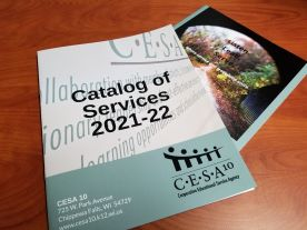 CESA 10 catalog of services
