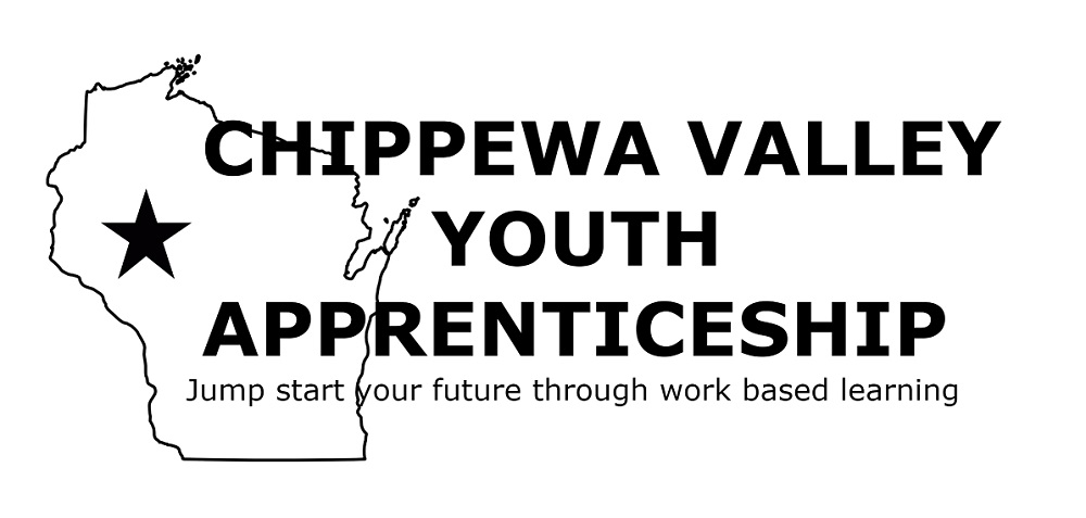 graphic of Wisconsin with Youth Apprenticeship logo